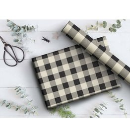 Two Pooch Paperie Buffalo Plaid Wrap