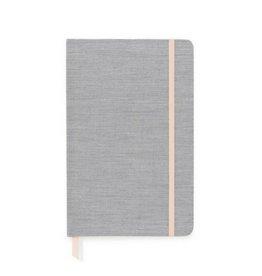 Sugar Paper Essential Journal, Black Pencil Stripe