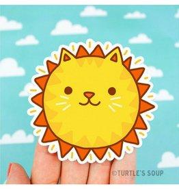 Turtle's soup Turtle - Sunshine Cat Sticker