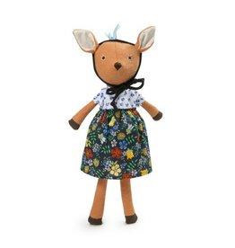 Hazel Village Phoebe Fawn/Cornflower Dress
