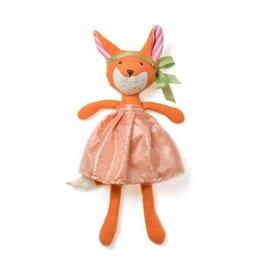 Hazel Village Flora Fox, Coral Belle Outfit