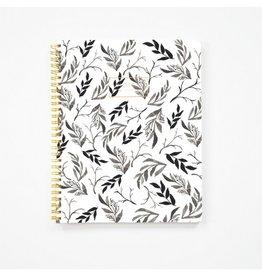 Pen + Pillar Black Floral Notebook