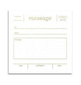Smitten on Paper Smit - Message Notepad