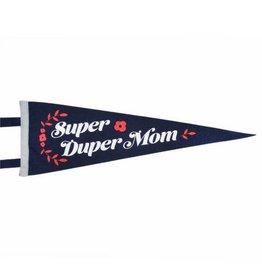 Seltzer Goods Super Duper Mom Pennant