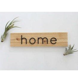 Savvie Studio Sav - Home Cedar Sign