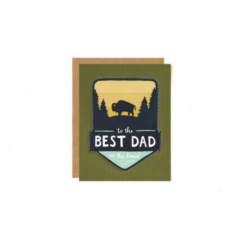 1Canoe2 One - Best Dad Card