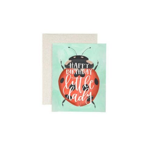 1Canoe2 Ladybug Card