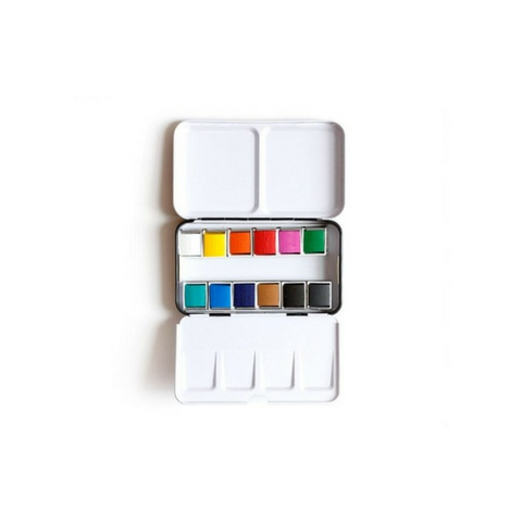 1Canoe2 One - Watercolor Tin