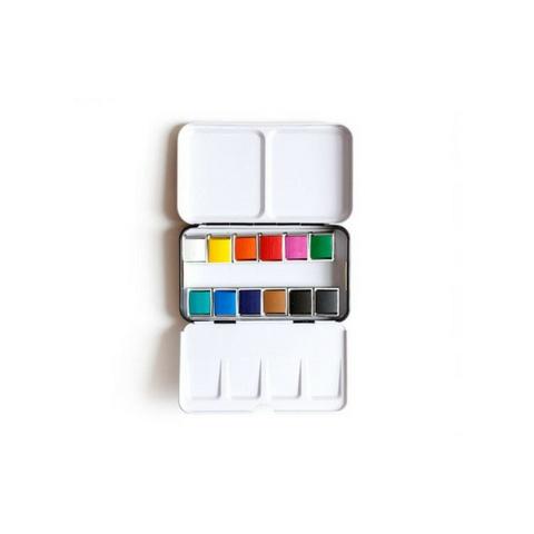 1Canoe2 Watercolor Tin