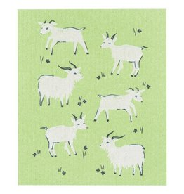 Now Designs Goats Swedish Dishcloth
