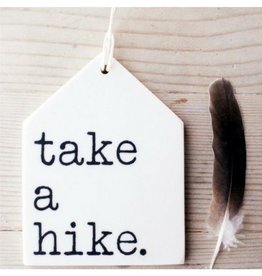 MB Art Studios MB - Take a Hike Tag