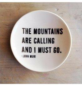 MB Art Studios MB - The Mountains Dish