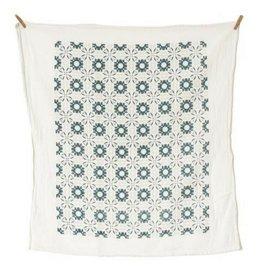 June & December June - Slate Chicory Towel