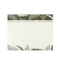 June & December June - Fronds Desk Pad