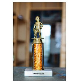 Frog and Toad Frog - I'm Pregnant Trophy