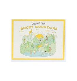 Ello There Ello - Rocky Mountain Postcards
