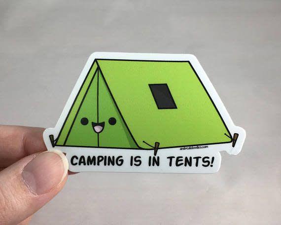 Andrea K Doodles Andrea - Camping