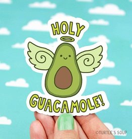 Turtle's soup Turtle: Holy Guacamole Sticker