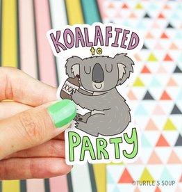 Turtle's soup Turtle: Koalified Sticker