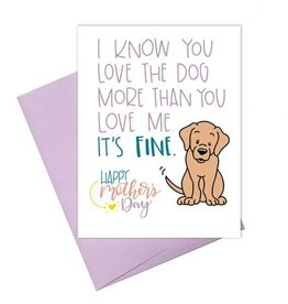 Colette Paperie Love The Dog