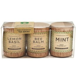 Modern Sprout Kraft Seed Starter, Tea Set