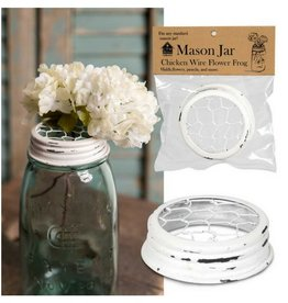 CTW Home Mason Jar Chicken Wire Lid