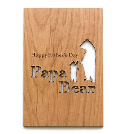 Cardtorial Card - Papa Bear