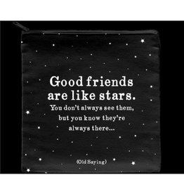 Quotable Quote: Good Friends Pouch