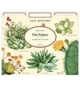 Cavallini Papers Succulent File Folders