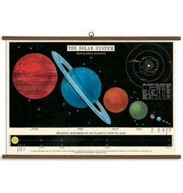 Cavallini Papers Solar System School Chart