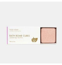 Yuzu Soap Lavender Sage Bath Bomb Cubes