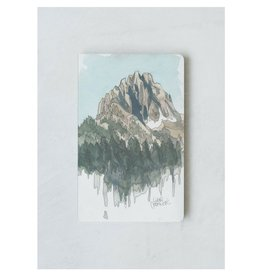 Denik Drawing Mountains Journal