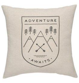 Now Designs Adventure Awaits Pillow