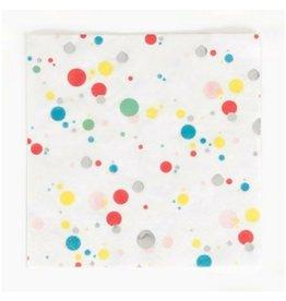 My Little Day Multicolor Bubbles Napkins