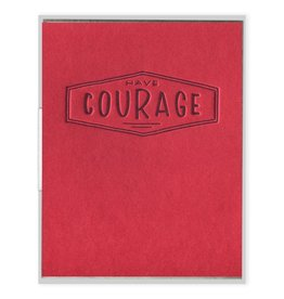 Ink Meets Paper Courage Card