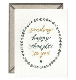 Ink Meets Paper Happy Thoughts Card