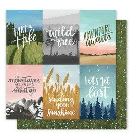 American Crafts Creek Wise Words Paper