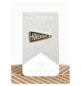 Worthwhile Paper Adventure Enamel Pin
