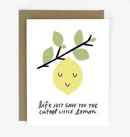 Worthwhile Paper Cutest Little Lemon Card
