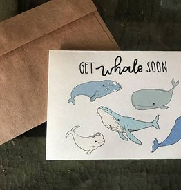 A Pinch of Ginger Card Co. Get Whale Soon