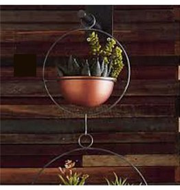 Roost Copper Hanging PLanter, SM