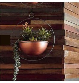 Roost Copper Hanging Planter, LG