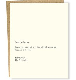 Sapling Press Dear Blank: Icebergs/Titanic