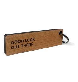 Sapling Press Key Tag: Good Luck
