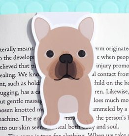 Crafted Van French Bulldog Mini Magnetic Bookmark