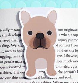 Crafted Van French Bulldog Mini Magnetic Bookmark
