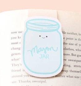 Crafted Van Mason Jar Jumbo Magnetic Bookmark