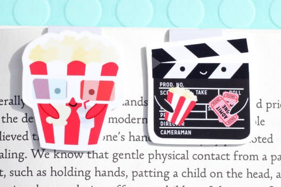 Crafted Van Movies Mini Magnetic Bookmark