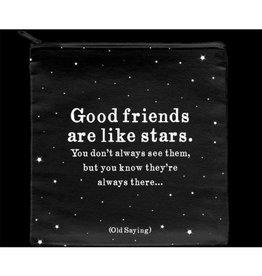 Quotable Good Friends Pouch