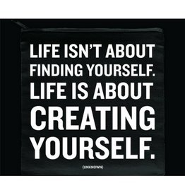 Quotable Creating Yourself Pouch
